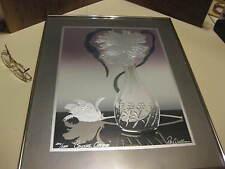 Figi Giftware Art Workshop Crystal Orchid Signed Roy Williams 230 of 2500