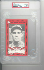 Ethan Allen auto autograph card PSA DNA certified Ohio Baseball Hall of Fame HOF