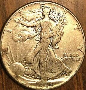 1944 USA SILVER 50 CENTS HALF DOLLAR COIN