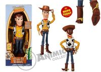 Disney Store Toy Story 4 WOODY INTERACTIVE TALKING ACTION FIGS 2019 Movie PIXAR