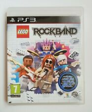 ROCKBAND LEGO PS3 PLAYSTATION 3 GAME COMPLETE WITH MANUAL PAL ROCK BAND SONY
