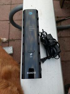 ARRIS BGW210 700 AT&T Cable Gateway WiFi Modem Router Black