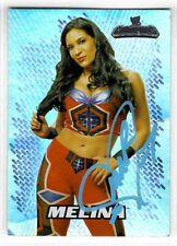 Melina Perez Signed 2011 Topps WWE Champions Card #F7