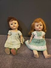 2 Dolls, One is marked Ginny Vogue Dolls, the other marked Vogue Doll