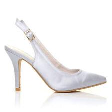 Faith Satin Court Shoes for Women
