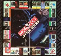 Monopoly Star Wars Classic Trilogy Edition Game Board only Replacement 1997