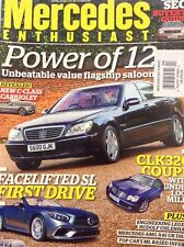 Mercedes Enthusiast Magazine Power Of 12 C-Class April 2016 010918nonrh