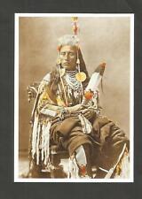 POSTKARTE INDIANER-AMERIKA CROW SCHAMANE MEDIZIN MAN  Apsáalooke  Absaroka