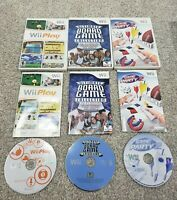 X3 LOT WII PLAY GAME PARTY 2 & Ultimate Board Game 🔥TESTED PICS🔥 Nintendo Cib