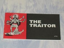 THE TRAITOR   CHICK CHRISTIAN/ GOSPEL TRACT  1990  JACK CHICK PUBLICATIONS