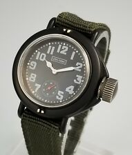RARE J PETERMAN USN FROGMAN CASE MILITARY CANTEEN WATCH – LIMITED ED 660 of 3000