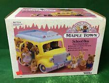 "1988 Maple Town ""SCHOOL BUS"" NIB BY TONKA"