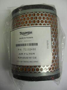 GENUINE TRIUMPH AIR FILTER AMERICA SPEEDMASTER THUNDERBIRD 1600 1700 T2202450
