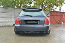 CUP Diffusor Ansatz für Audi S4 Typ B5 A4 S-Line Heckansatz Heckschürze ABS