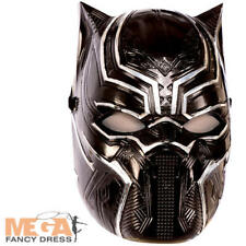 Black Panther Mask Kids Fancy Dress Infinity War Superhero Childrens Costume Acc