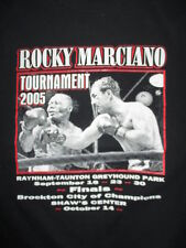 2005 ROCKY MARCIANO Tournament Finals Brockton City of Champions (MED) T-Shirt