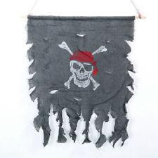 New listing Halloween Pirate Flag Ghost Flag Door Curtain Halloween props Home Door Decor