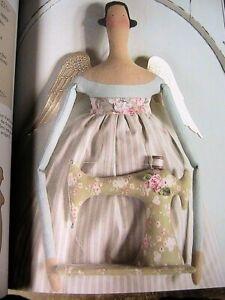 TILDA HOMEMADE & HAPPY~Tone Finnanger whimsical 144pp cloth art patterns book