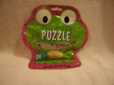 Frog Shaped 24 Piece Puzzle