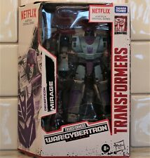 Transformers WFC Decepticon MIRAGE, Netflix Animated Deluxe Class, MISB/New 2020