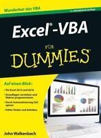 Excel-VBA für Dummies von John Walkenbach (2016, Taschenbuch)