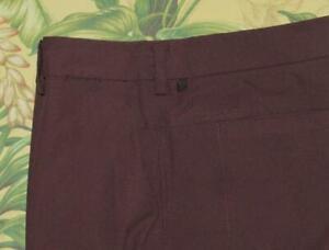 "Mens LULULEMON Plum 11"" Casual Shorts 36"