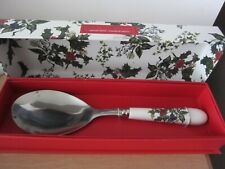 Portmeirion Holly and Ivy Serving Spoon