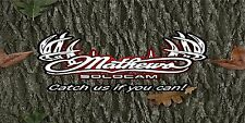 Mathews Banner Vinyl Full Color Custom Sporting Goods Bow Shop Archery Display