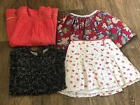 Girls Bundle - Pretty Floral, Skirts,& Dresses Girls Age 12-18months M&S Mamas