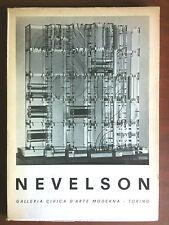 Catalogo della mostra di Louise Nevelson GAM Torino 1969