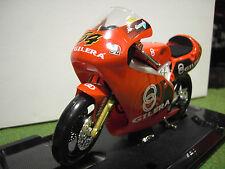 MOTO GILERA 125 #54 Manuel Poggiali à l'échelle 1/10 GUILOY 13625 moto miniature
