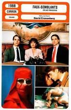 FICHE CINEMA : FAUX SEMBLANTS - Irons,Bujold,Cronenberg 1988 Dead Ringers