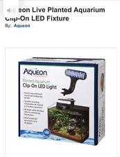 Aqueon Clip-On LED Light for planted aquariums  Bubble Wand for Aquariums, Blue