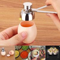 Stainless Steel Boiled Egg Topper Scissor Shell Top Cutter Egg Open Kitchen Tool