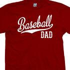 Baseball Dad Script Tail T-Shirt - Team Tee Keep Calm I'm A - All Sizes & Colors