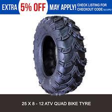 ATV UTV Quad Bike Tyres 25x8-12 for Honda TRX 500 650 Rubicon 4WD 03 04 05 06