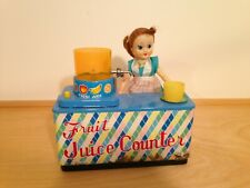 """Rare Vintage Battery Toy """"""""Fruit Juice Counter"""""""