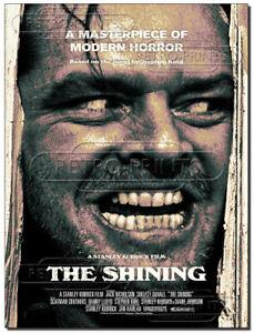 THE SHINING Metal Sign Movie Classic Film Advert poster retro man cave print
