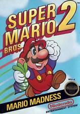 Super Mario Bros. 2 NES Great Condition Fast Shipping