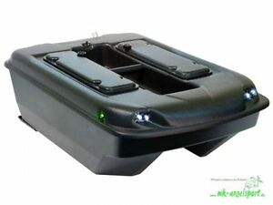 CARP MADNESS Futterboot Set Bausatz CM XXLSchwarz Baitboat Köderboot 2,4 GHz