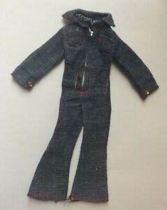 Attractive Jumpsuit for a fashion doll vintage dolls clothes