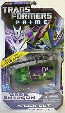 2012 Transformers Prime Dark Energon Animated KNOCK OUT Figure Series 2