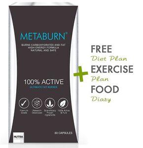 METABURN® Ultimate Fat Burner, Made in the UK,Shocking Weight Loss Break Through