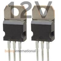 4x 12V VOLTAGE REGULATOR POSITIVE 1.5A TO220 L7812CV 7812 Arduino Precut