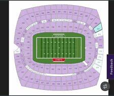 1 UPPER LEVEL Kansas City Chiefs vs Green Bay Packers 11/7/21 Ticket sec 309
