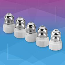 5 PCS E27 to GU10 Lamp Light Bulb Extend Base Socket Converter Adaptor Adapter