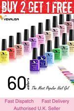 Nail Gel Polish set VENALISA Soak off UV LED Colour Base Top Coat Nail Varnish