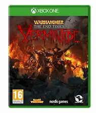 Pal version Microsoft Xbox One Warhammer the End Times Vermintide
