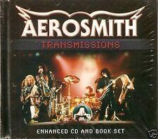 AEROSMITH - TRANSMISSIONS - ENHANCED CD & BOOK SET - FREE POST IN UK