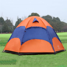 Tent with Mosquito Net Waterproof Folding Separated Double Layer Camping Fishing